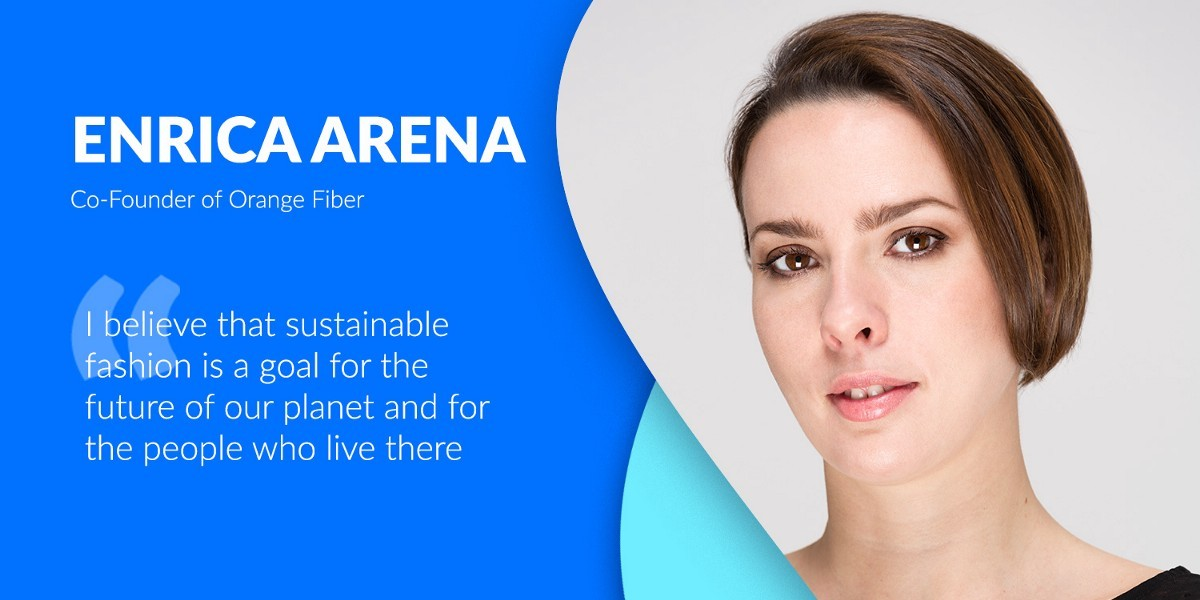 An Interview Session With The  Co-Founder of Orange Fiber: Enrica Arena