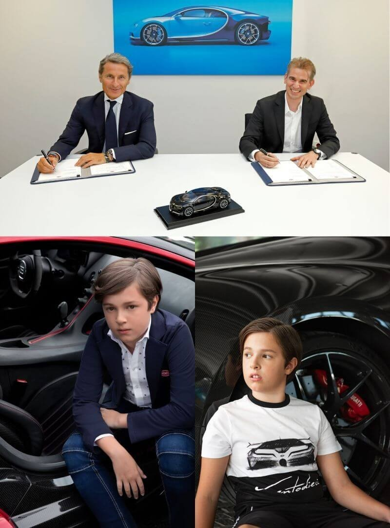 BUGATTI launching their BUGATTI Junior collection for Spring/Summer 2021