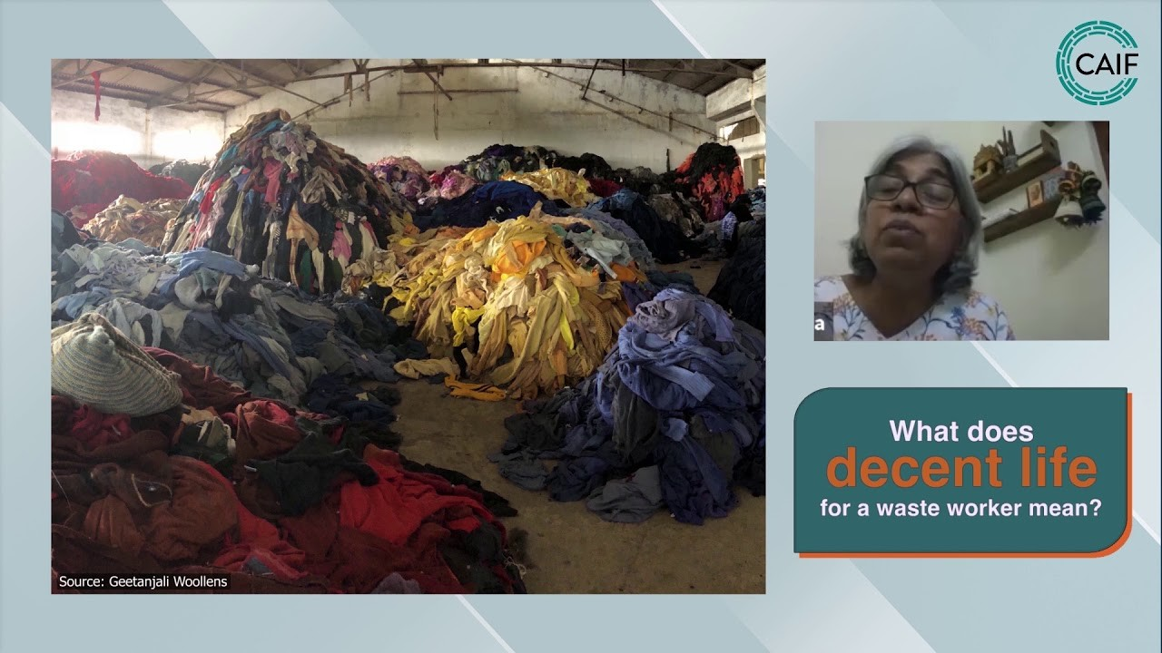 Textile Waste Workers - Livelihood or Exploitation